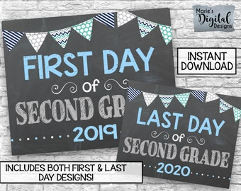 picture regarding Last Day of 2nd Grade Printable identified as 2nd quality Etsy