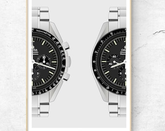e9ab8ab87c3 Art of Horology Luxury Watch Posters Made to by TheArtOfHorology