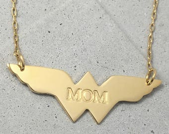 Mom Necklace, Gift for Mom, Gift for Mother, Personalized Gift for Mom, New Mom Necklace, Personalized Necklace, Mom Gift, Mother Necklace