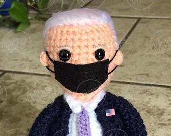 Pattern Joe Biden Doll Crochet Pattern PDF Instant Download