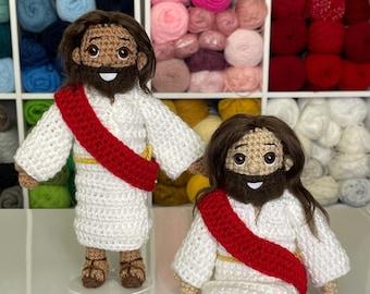 Pattern Jesus Crochet Doll Amigurumi Pattern
