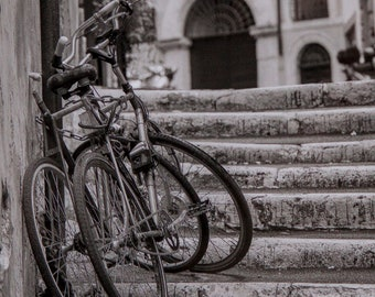 Rome, Italy, black & white A4 print SALE-29