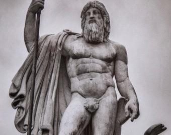 Rome, Italy, Black & White A4 print SALE-35