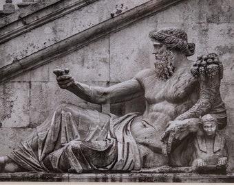 Rome, Italy, black & white A4 print SALE-23