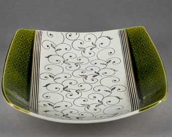 Ceramic Plate, Fruit plate, Lace Ceramic Bowl, Green Bowl, Decor New Home, Wedding Gift, Olive Green Plate, Pottery Bowl, Housewarming gift