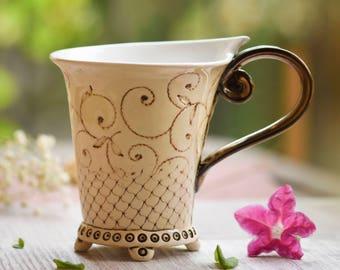 Coffee Mug,  ceramic mug, tea cup, handbuilt mug, ceramics and pottery , pottery mugs, handmade mugs, coffee cup, wedding gift, unique mug,