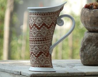 Ceramic Mug, Tea Mug, Pottery mug, Ceramics and pottery, Ceramic cup, Tea cup, Coffee cup, Coffee mug, Handmade mug, Unique mug, Terracotta