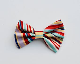 Rainbow Pet Bow Tie