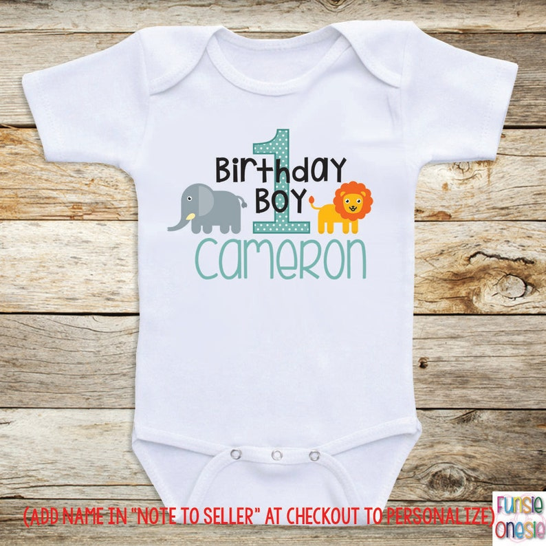 d4ee2ea78 Personalized Birthday Baby Clothes Birthday Boy | Etsy