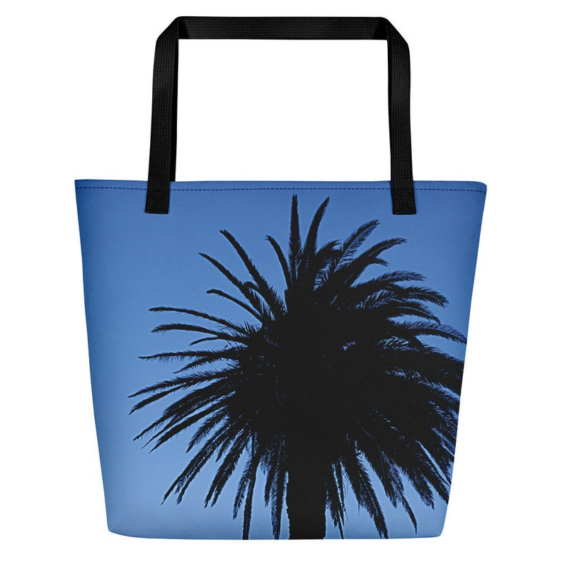 Palm Tree Beach Bag