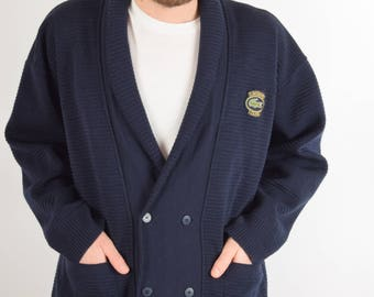 Vintage Lacoste Club Cardigan Made in France (1996)