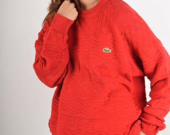 Vintage Lacoste Loisirs Jumper Made in France (2035)