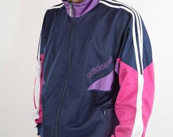 Vintage Adidas Jacket Size L 90'S (2120)
