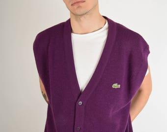 Vintage Lacoste Vest Made in France (2779)