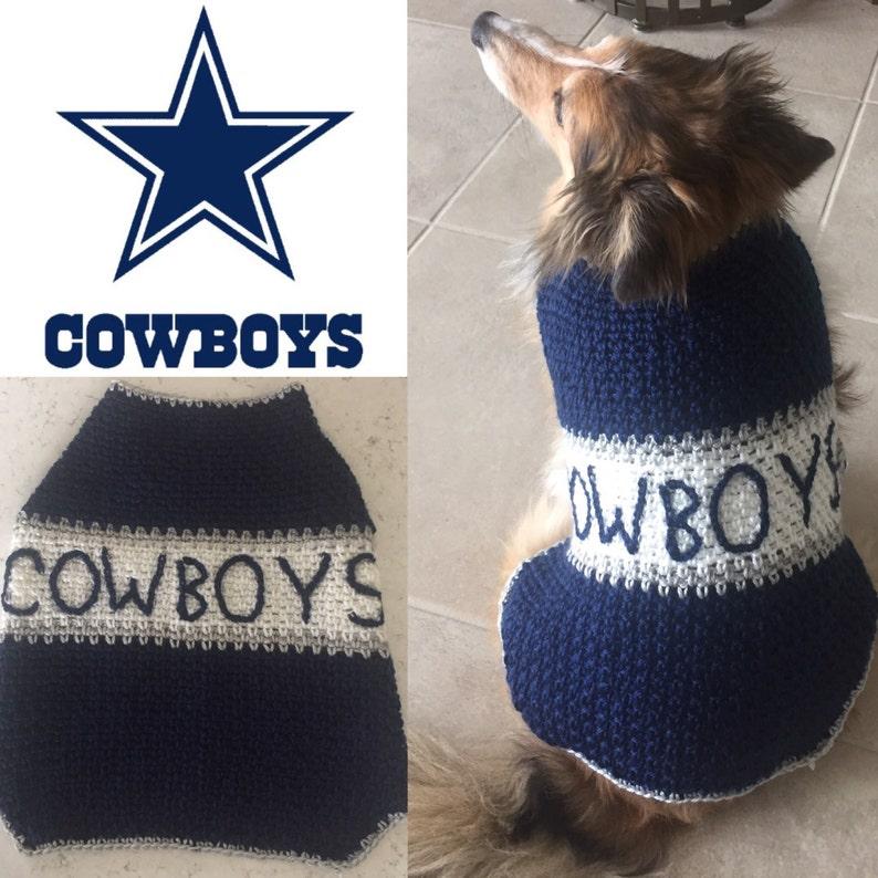 best service eb52e e10ff Football Dog Sweater, Dog Costume, Football Team Dog Sweater, Football Dog  Coat, NFL Dog Sweater, Football Team Colors Pet Sweater Free Ship