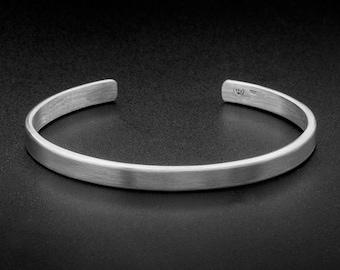 Mens Silver Bracelet Etsy