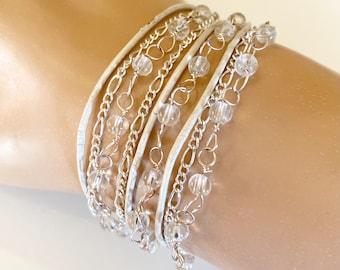 Triple Wrap Bracelet - Delicate & Handcrafted