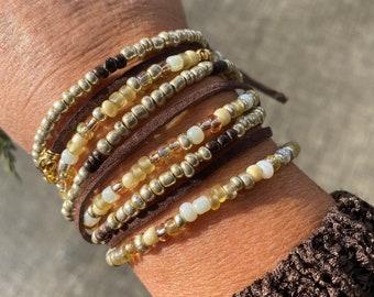 Bohemian Wrap-sody Triple Wrap Bracelet