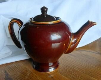 McCormick & Co Teas Balto Fudge Brown Teapot