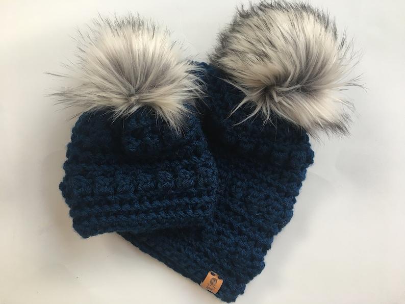 e93d187f8fb Bobble Hats. Crochet beanie. Baby beanie. Toddler hat. Mommy