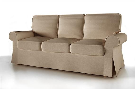Fodera per sedile 3 ikea ektorp fodera per divano letto etsy - Ikea divano letto ektorp ...