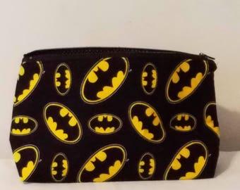 Batman makeup bag