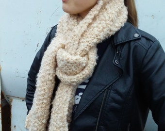 Coffee Texture Scarf