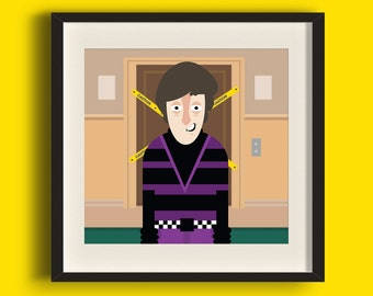 Howard Wolowitz - Big Bang Theory Art Print