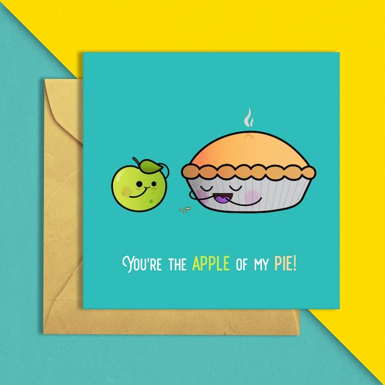 Apple of my pie Greeting Card image 0