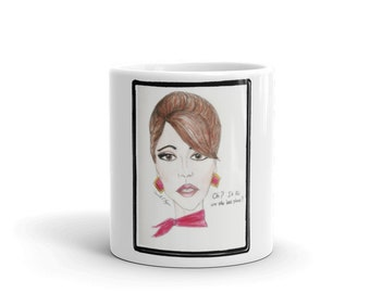 "Oh? it fit on the last plane"" Flight attendant Mug"