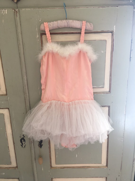 A beautiful handmade French vintage ballet costume