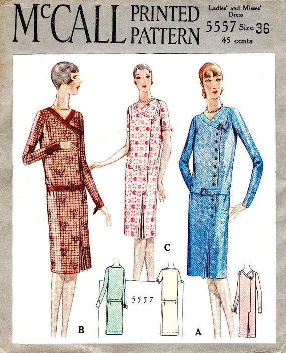 1920er Jahre 20er Jahre Kleid nähen Muster Reproduktion / / | Etsy