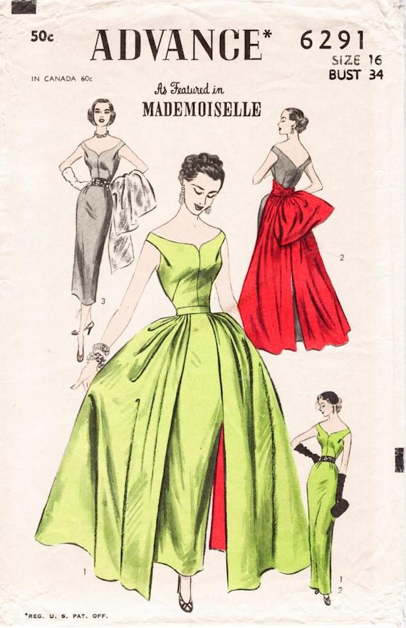 1950s 1960s Jahrgang Kugel Kleid wackeln Etuikleid Kleid & | Etsy
