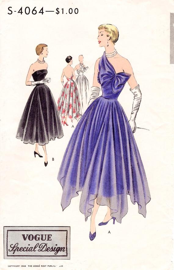 década de 1950 años 50 circular de noche falda un arco de