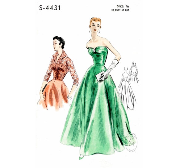 1950S Ballgown Dresses