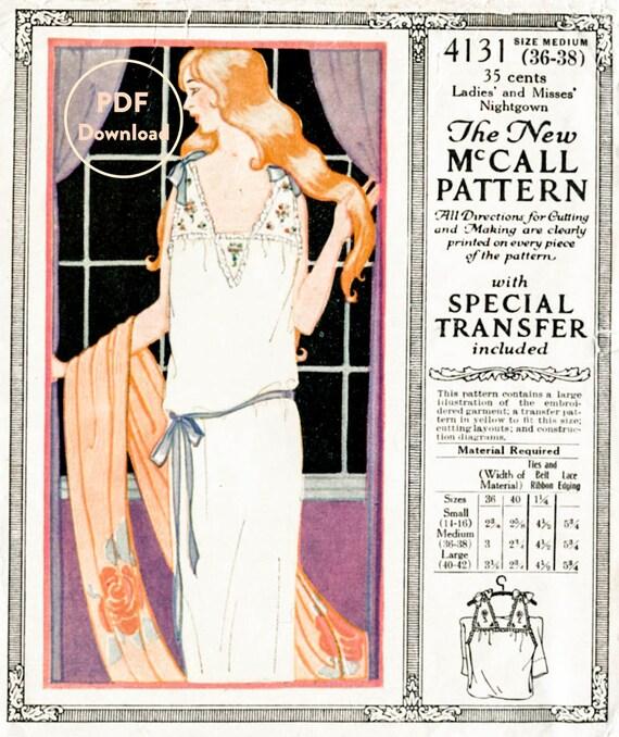 1920er Jahre 20er Jahre Vintage Dessous Schnittmuster Schlupf | Etsy