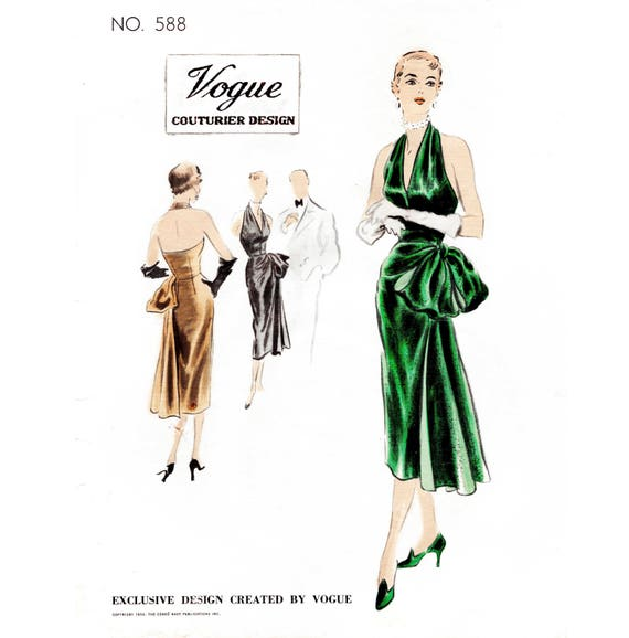 1950er Jahre 50er Jahre Meerjungfrau Cocktail-Kleid Vintage   Etsy
