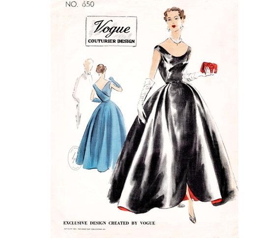 50s Evening Dresses