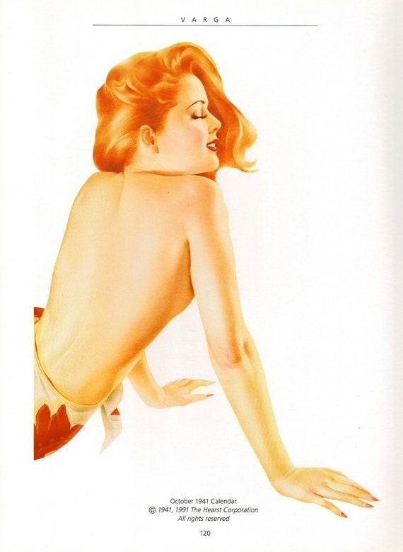 Varga Girl, Original Pin Up Vintage Print