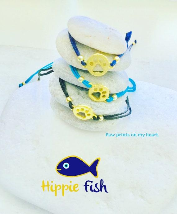 festival Fish bracelet hipster hippie fish bracelet hippie fish gifts fish bracelets silver fish charm silver bracelet yellow gold
