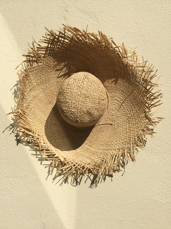 703ddbc5360 Hats natural hat casual hat French hat raffia hat straw
