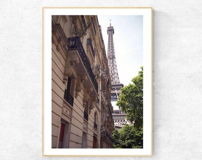 Paris Je t'aime! Trocadero, Streets of Paris, Premium Print