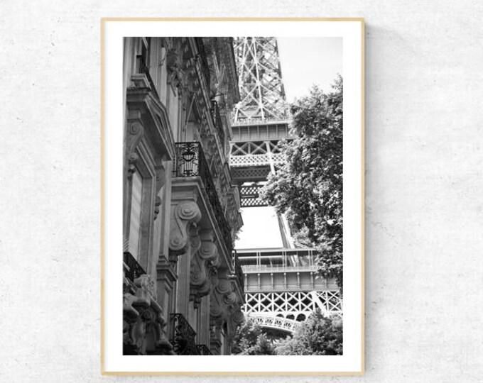 Oh Paris! Eiffel Tower Premium Print