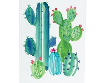 Cacti Love - A6 Greeting Card