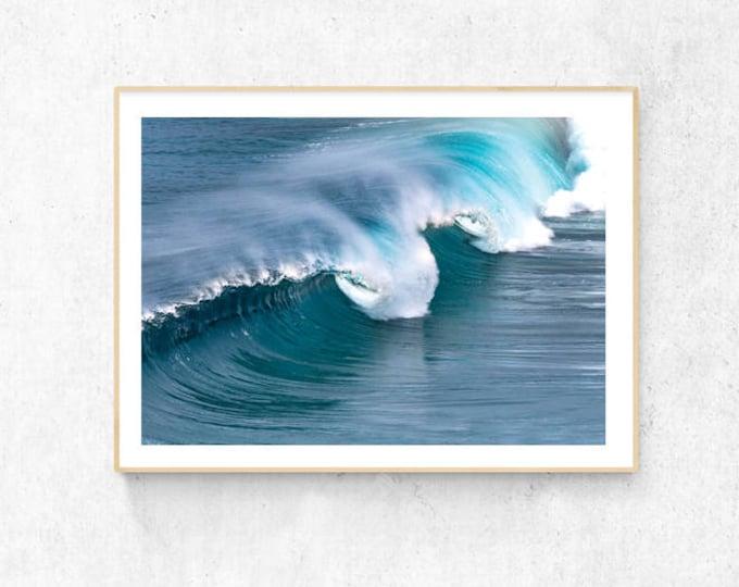 Waves Premium Print