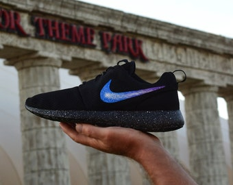 7a343bb260e331 New Nike Roshe One Custom Galaxy Roshes Run Mens Womens Kids Shoes