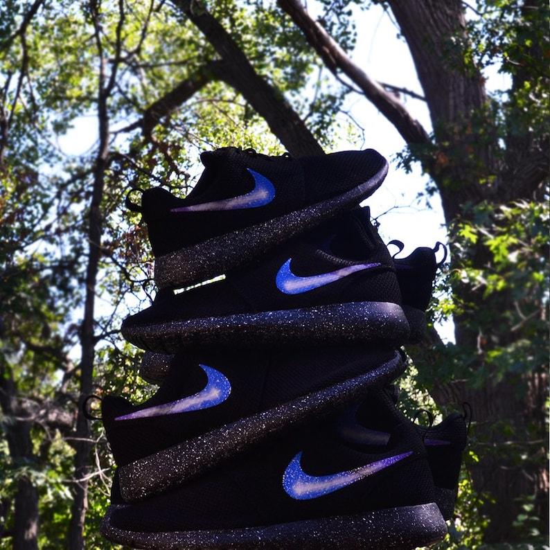02e7b6f92fc85 New Nike Roshe One Custom Galaxy Roshes Run Mens Womens Kids Shoes