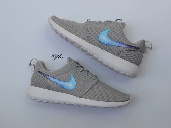 445c911f1ab96b ... real nike roshe one custom painted galaxy roshes etsy 02d61 cec40