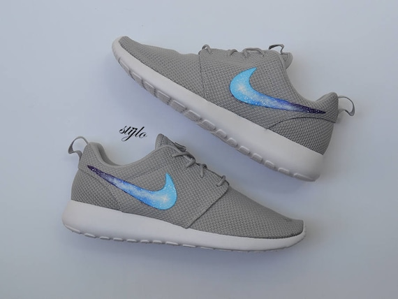 722a9cf4b147 ... real nike roshe one custom painted galaxy roshes etsy 02d61 cec40