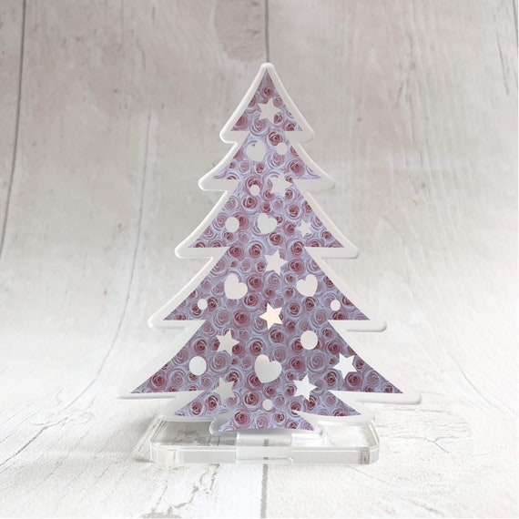 Christmas Tree Candle Holder.Christmas Tree Tealight Holder Led Candle Holder Mantel Decoration